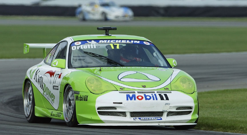 2002 Porsche Supercup winner Stéphane Ortelli here at Indianapolis USA