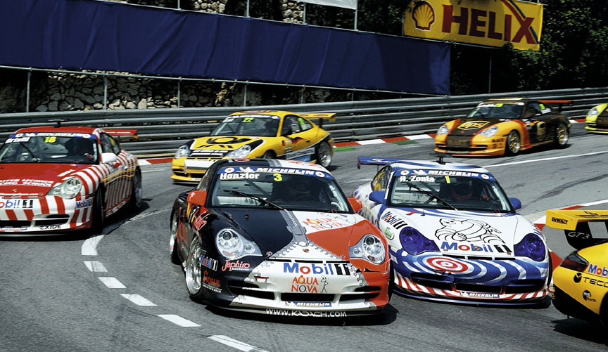 2003 Porsche Supercup Monaco, VIP car driven by Zonta
