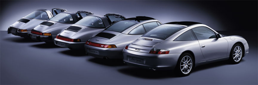 Porsche 911 Targa evolution