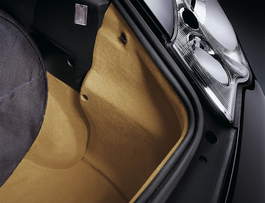Trunk carpet by Porsche Exclusive