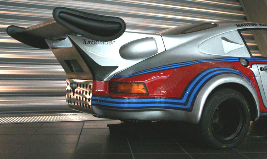 Porsche 911 Carrera RSR Turbo 2.1 rear wing