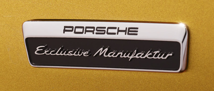 Porsche 911 991.2 Turbo S Exclusive Manufaktur sign