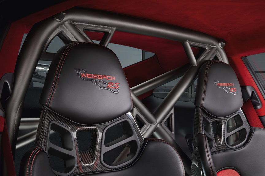 Porsche 911 991 GT2 RS Weissach embroidered headrests