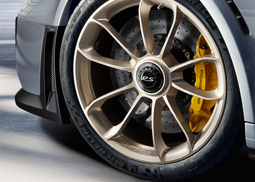 Porsche 911 991 GT2 RS forged aluminium wheel
