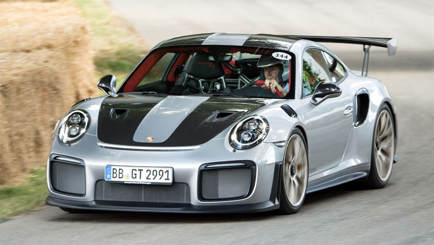 Porsche 911 991 GT2 RS in Goodwood