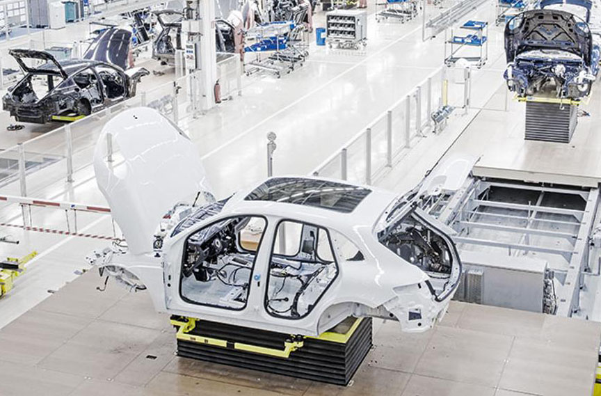 Macan 95B.1 production in Leipzig