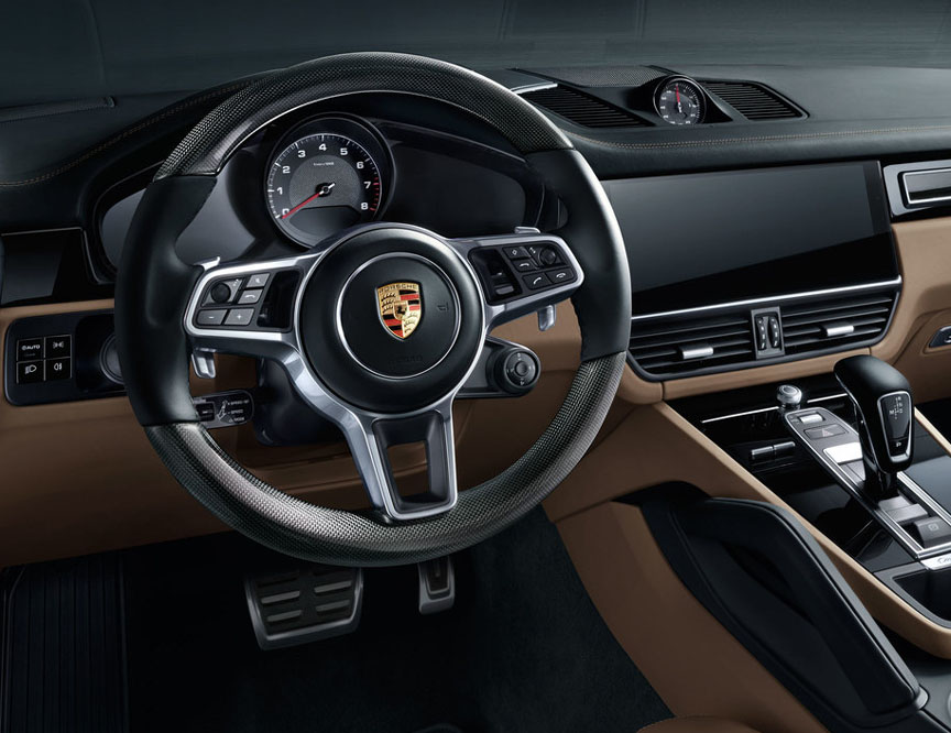 2018 Porsche Cayenne steering wheel
