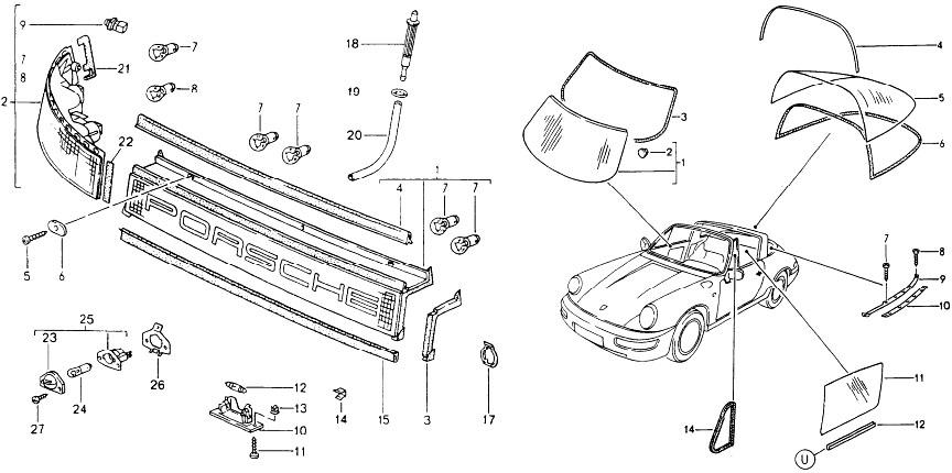 porsche 991 engine diagram spare part codes stuttcars com  spare part codes stuttcars com