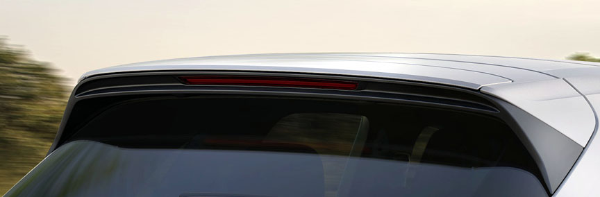 2018 Porsche Cayenne Turbo 4.0 air brake roof spoiler