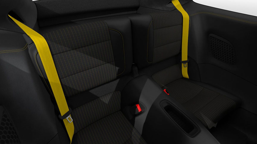 Rear seats are optional for 911 Carrera T