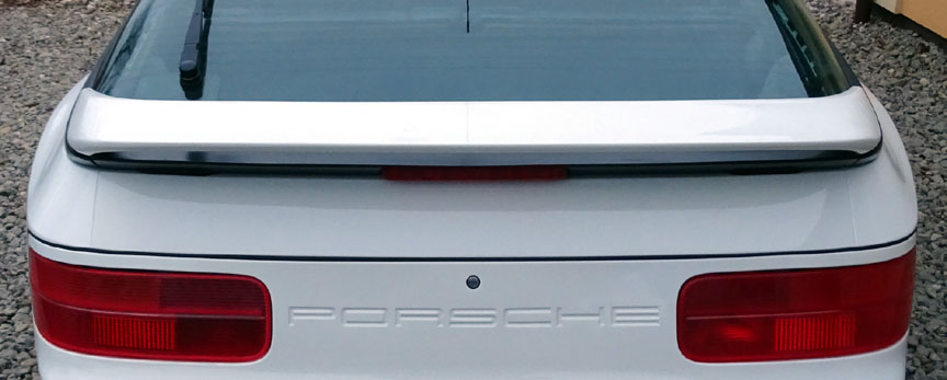 Porsche 968 painted rear spoiler