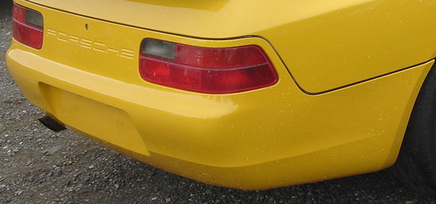 Porsche 968 Japanese version rear lamps
