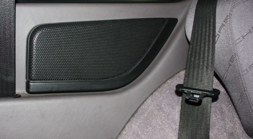 Porsche 968 rear speaker cover, 1993 model year onwards