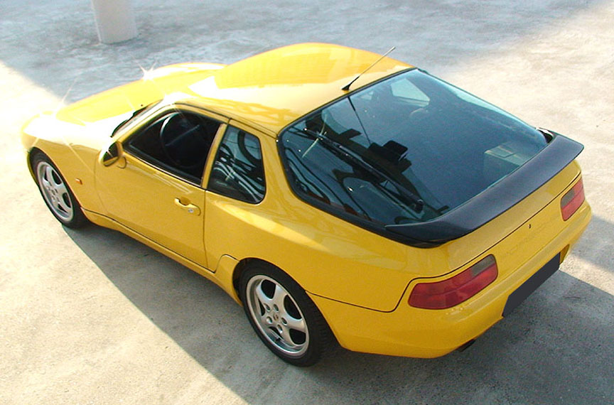 Porsche 968 without sun-moon-roof