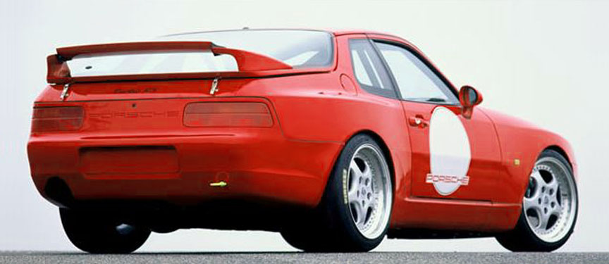 Porsche 968 Turbo RS rear wing