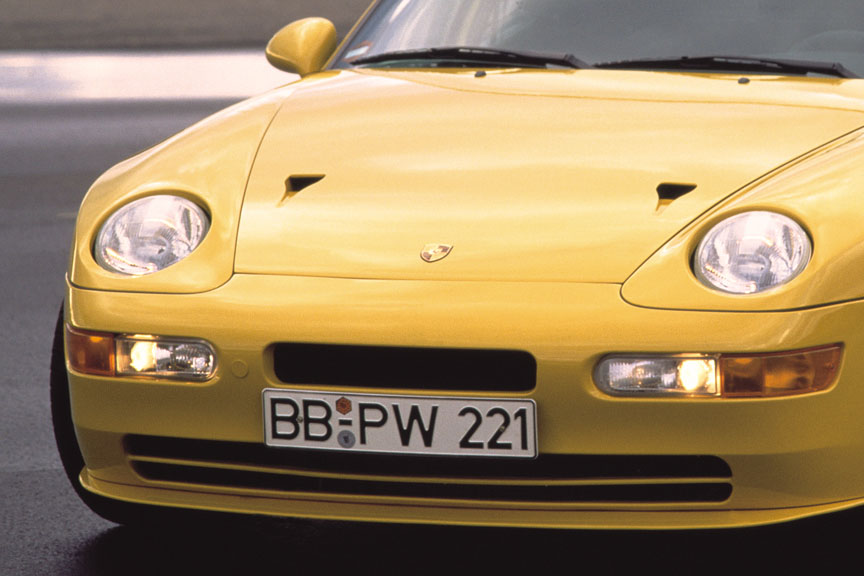 Porsche 968 Turbo S front openings