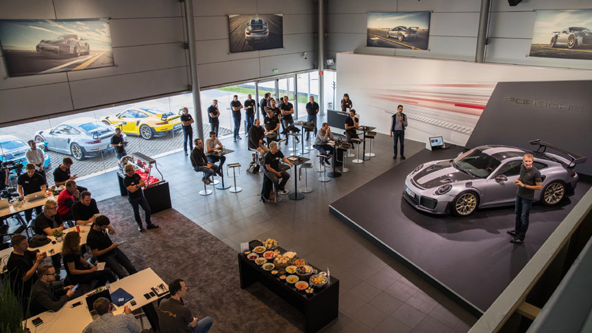 2017 Portimao GT2 RS press launch