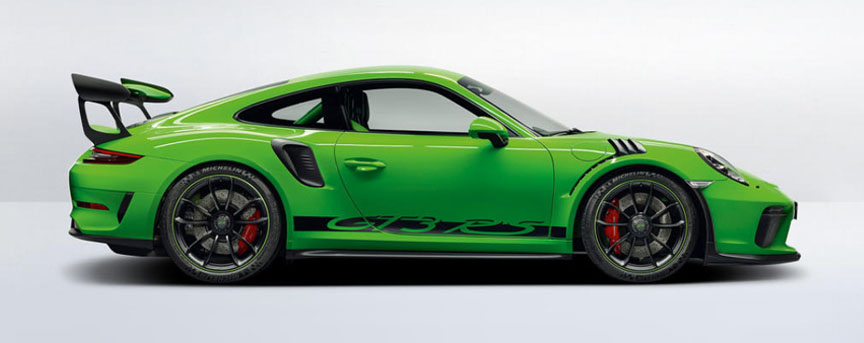 Porsche 911 991.2 GT3 RS (facelift) in Lizard Green