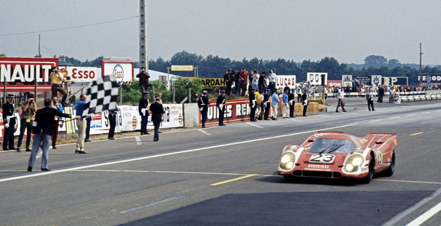 1970 Le Mans finish, Porsche 917