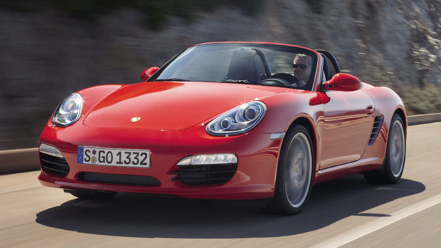 Porsche Boxster 987.2 in Guards Red