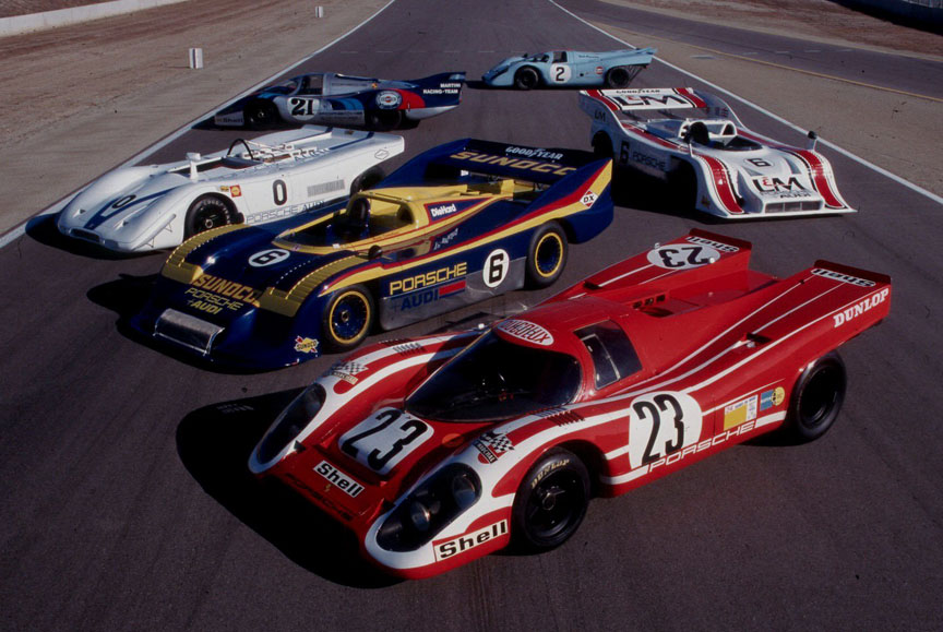 Porsche 917 collection