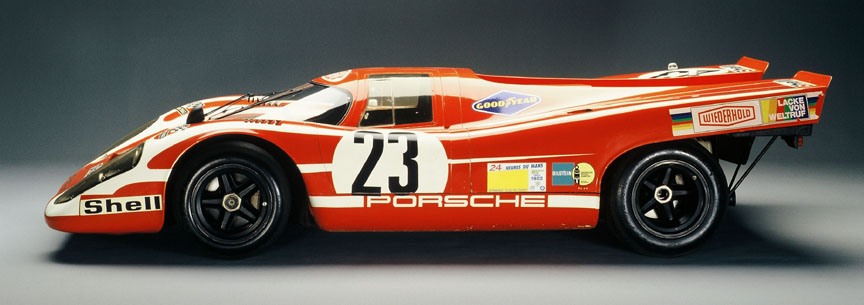 Porsche 917-001 photographed in the eighties