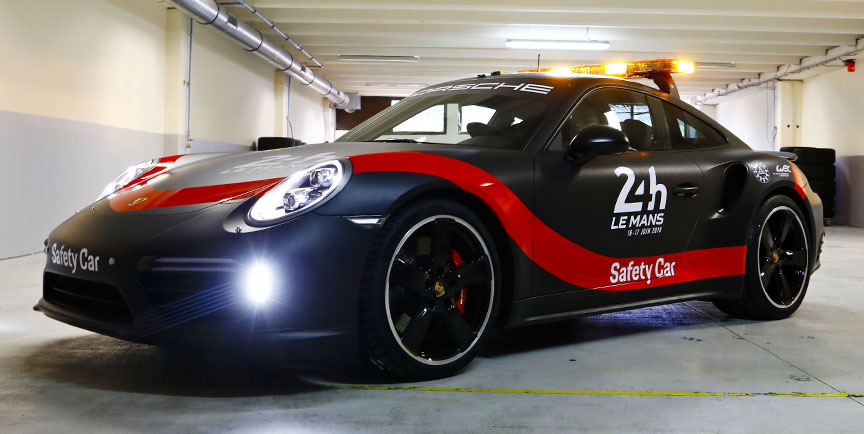 2018 Porsche 911 Turbo WEC Le Mans safety car