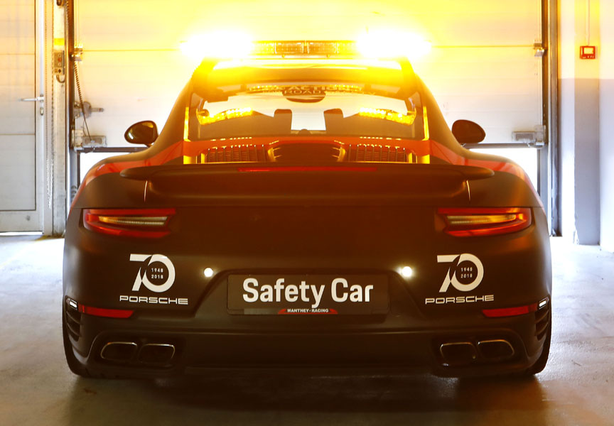 2018 Porsche 911 Turbo WEC safety car