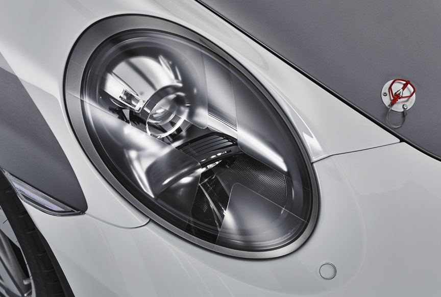 Porsche 911 991 Speedster concept headlamp