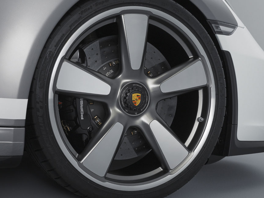Porsche 911 991 Speedster concept wheel and brake
