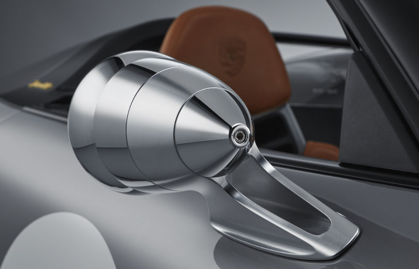 Porsche 911 991 Speedster concept side mirror