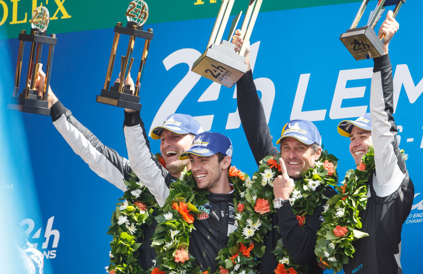 2018 Le Mans 24h GTE Am winners (Dempsey-Proton Racing)