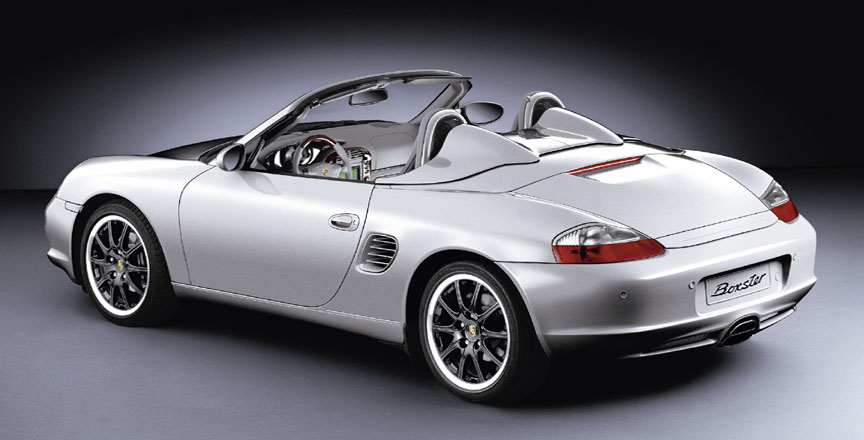 Boxster 986.2 with GT3 wheels and Speedster rear by Porsche Exclusive