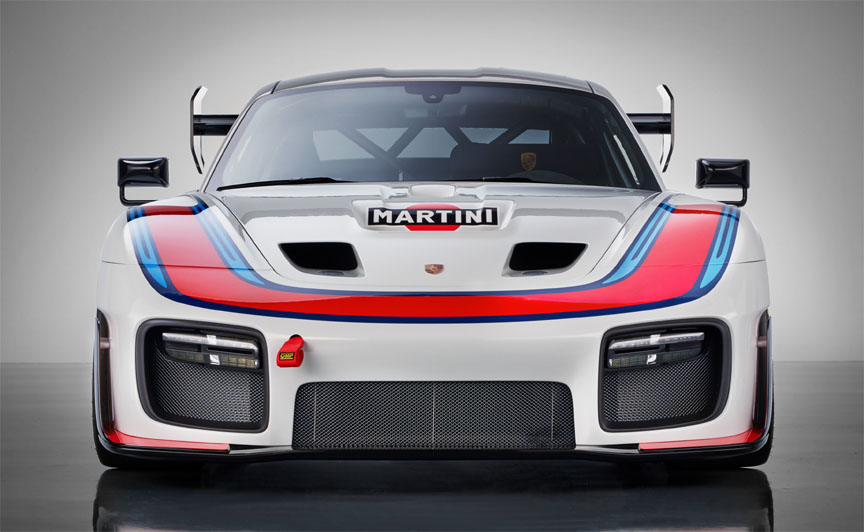 2018/2019 Porsche 935 Tribute, front view