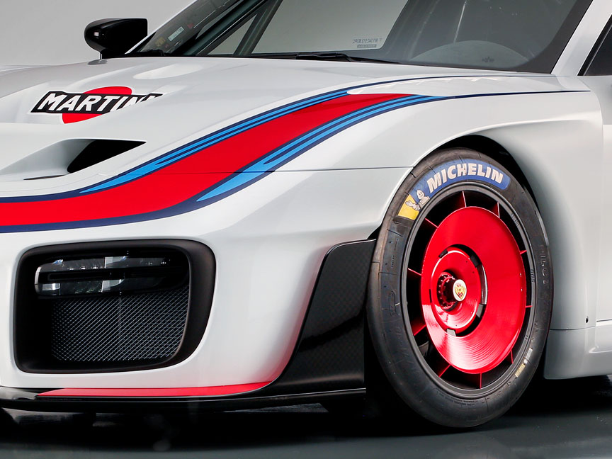 2018/2019 Porsche 935 Tribute front wheel