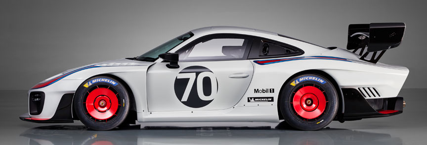 2018/2019 Porsche 935 Tribute side view