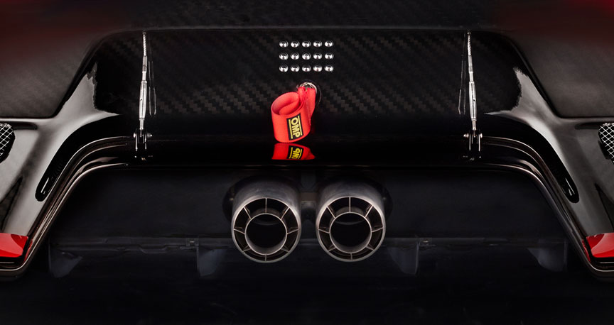 2018/2019 Porsche 935 Tribute exhaust