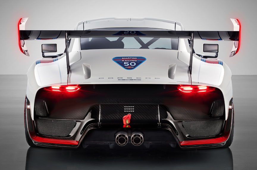 2018/2019 Porsche 935 Tribute rear view