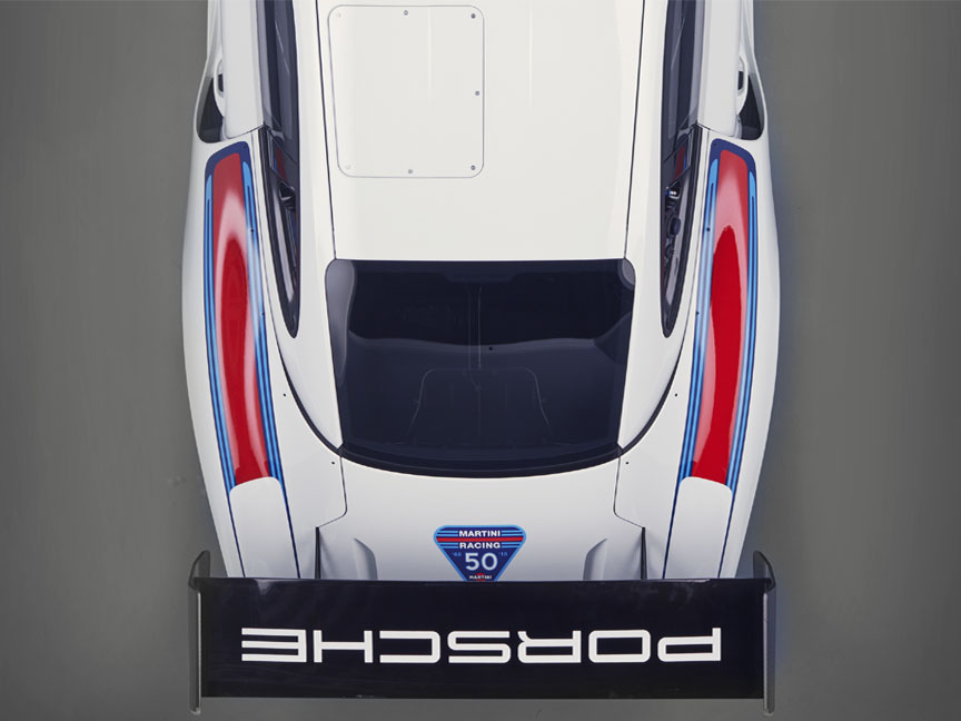 2018/2019 Porsche 935 Tribute rear spoiler