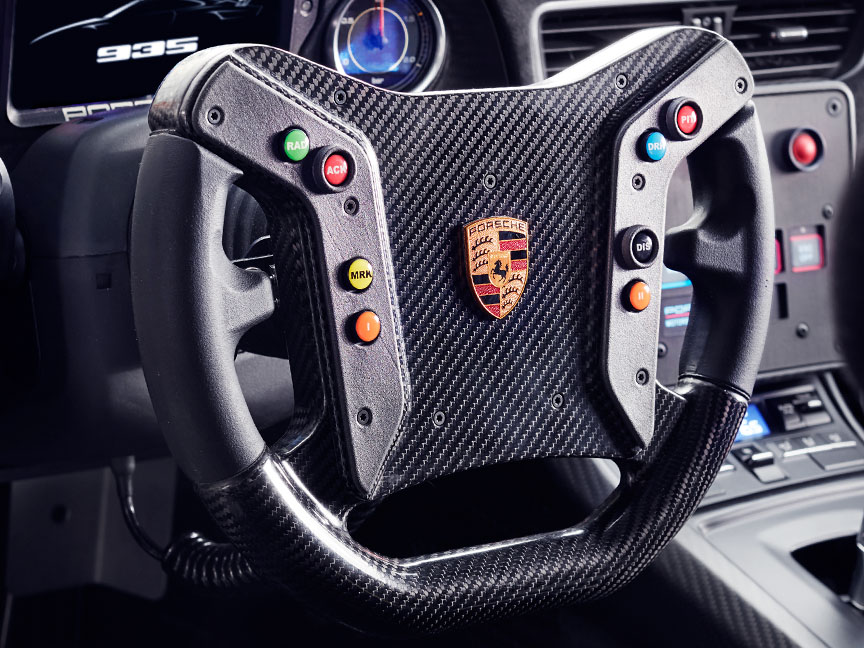 2018/2019 Porsche 935 Tribute steering wheel