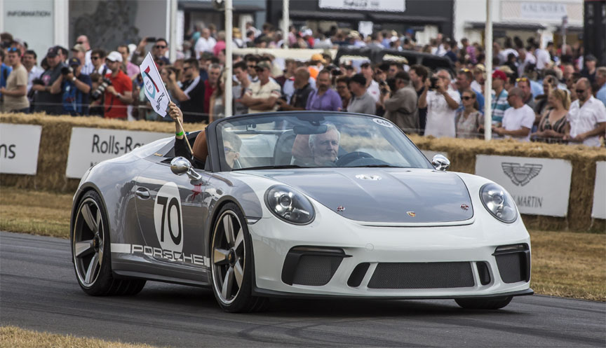2018 Goodwood Festival of Speed, Porsche 911 991 Speedster, Andreas Preuninger