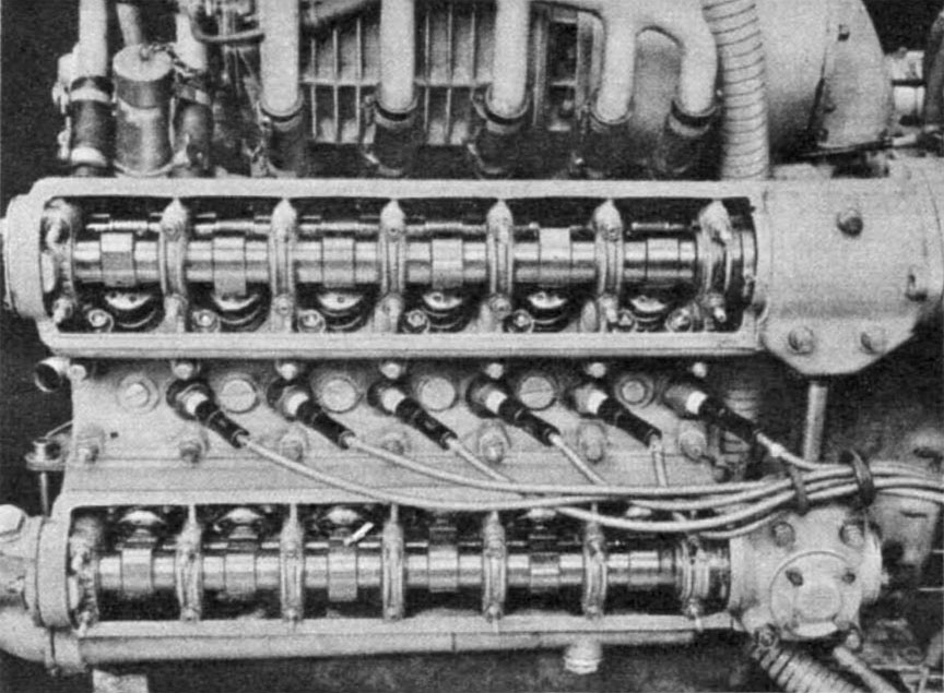 Cisitalia Grand Prix (Porsche type 360) engine