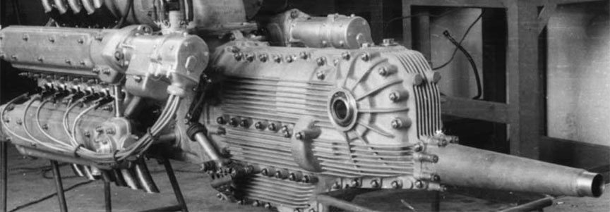 Cisitalia Grand Prix (Porsche type 360) engine and transmission