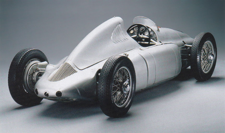 Cisitalia Porsche type 360, rear corner view