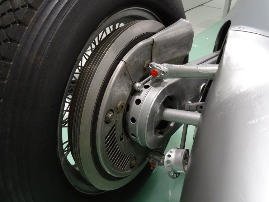 Cisitalia Porsche type 360 rear brake