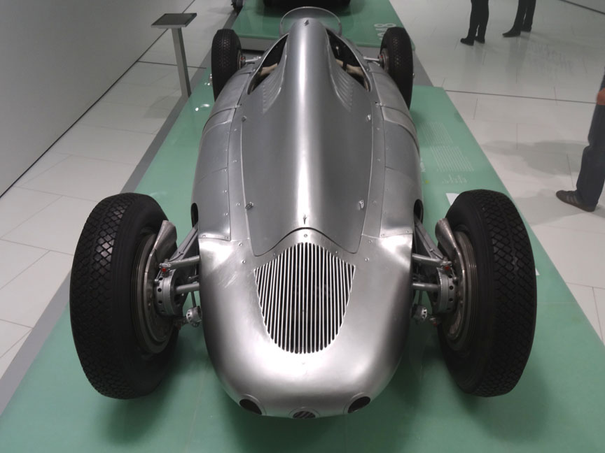 Cisitalia Porsche type 360 rear top view