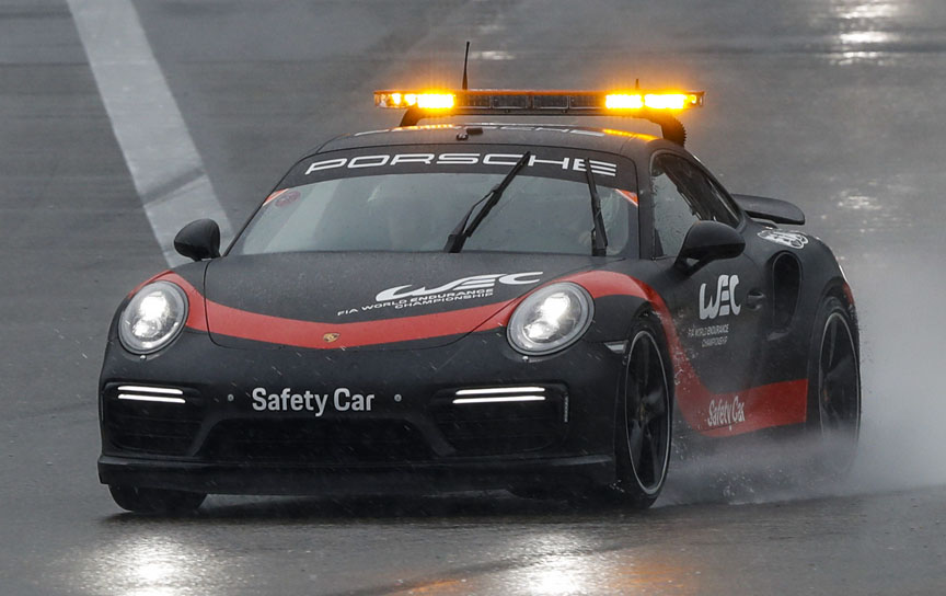 Porsche 911 991.2 Turbo safety car for FIA WEC, 2018 Shanghai 6 hours