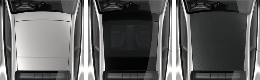 Porsche 911 992 roof variants: sunroof, glass sunroof, carbon