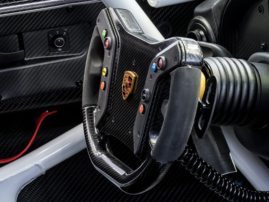 Porsche 911 991 GT2 RS Clubsport steering wheel