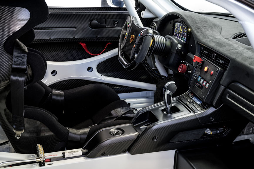 Porsche 911 991 GT2 RS Clubsport interior